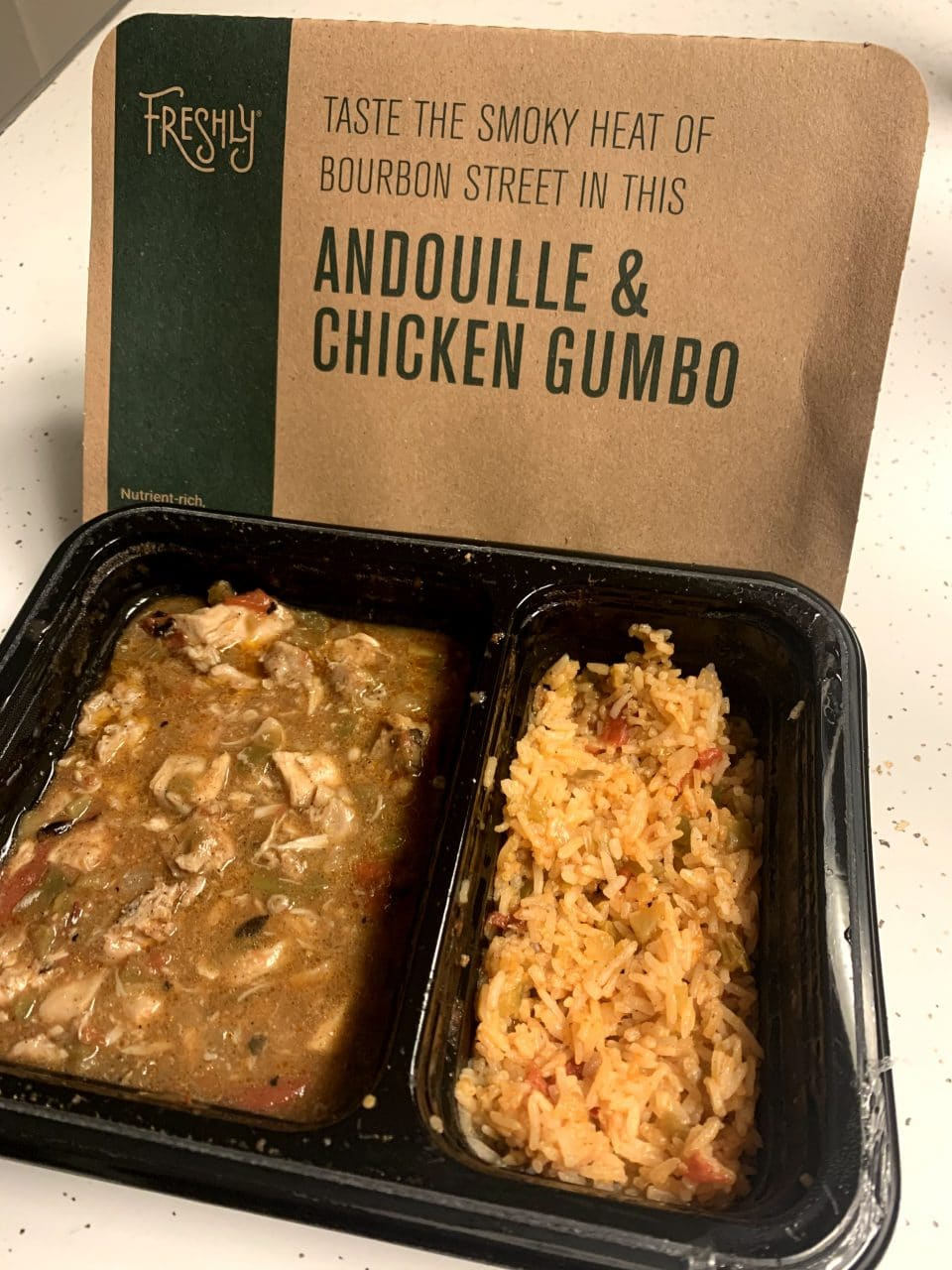 Andouille & Chicken Gumbo - Freshly