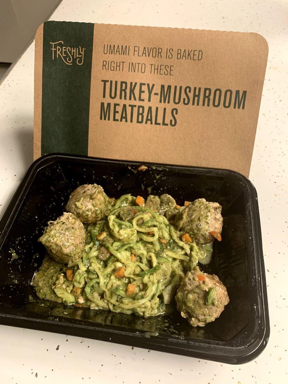 Turkey-Mushroom Meatballs - Freshly